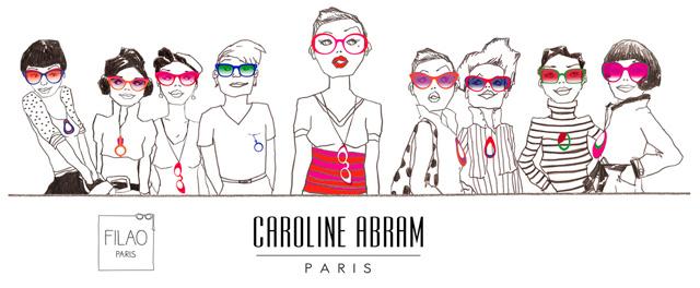 Gafas de mano muy chics de Caroline Abram Paris