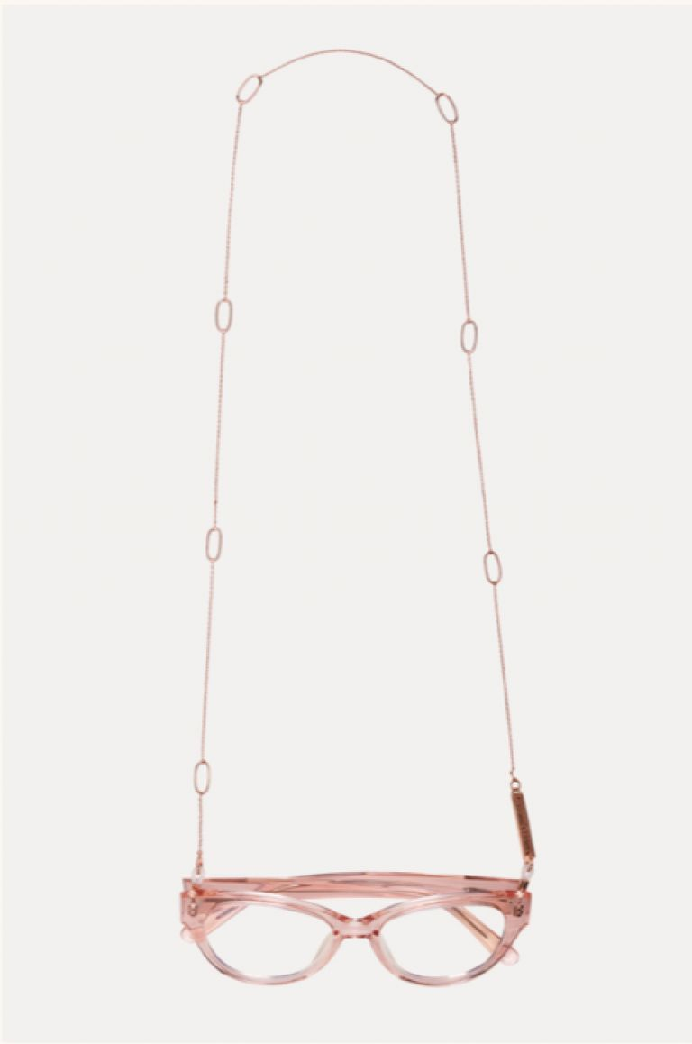 Frame chain JACKIE-OH ROSE GOLD ORO 18K